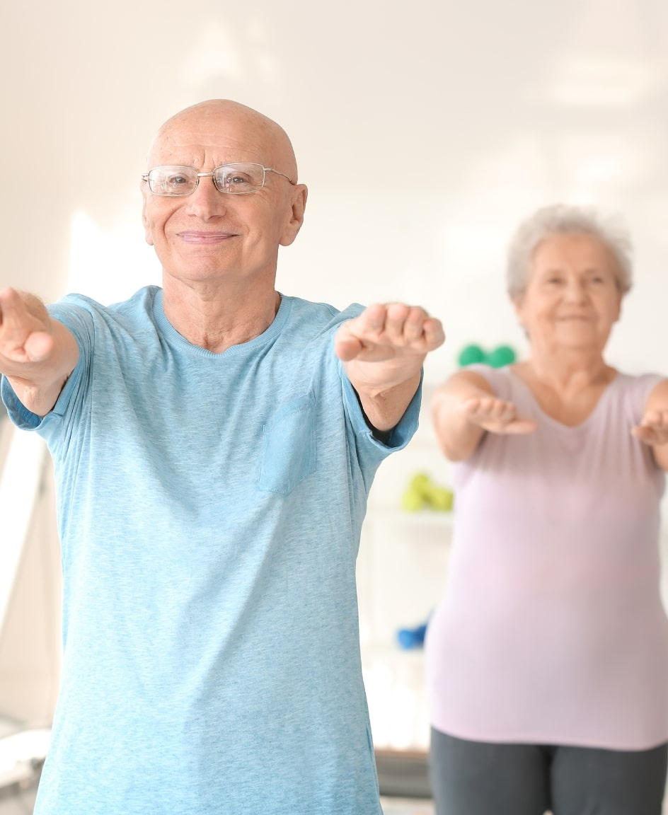in-home exercises for seniors