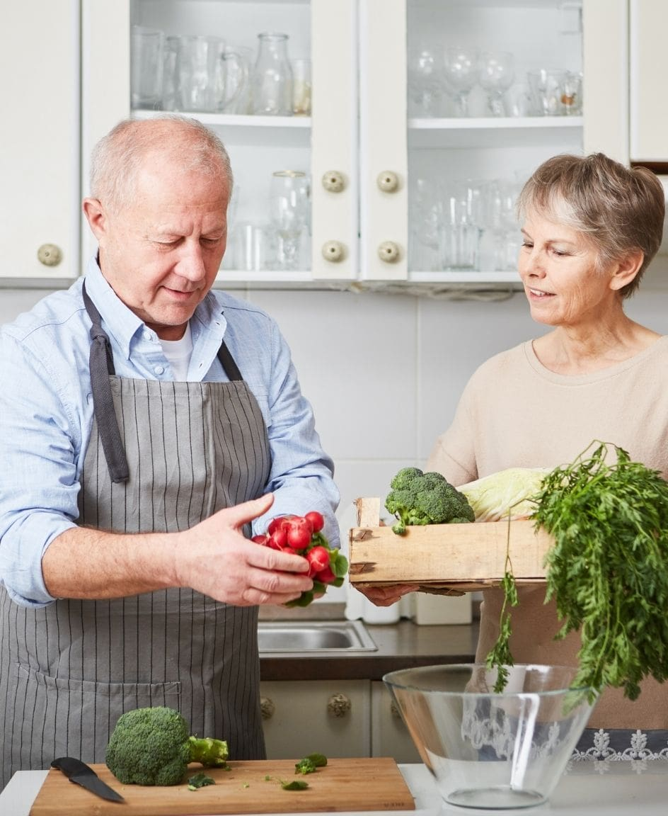 Proper nutrition can help seniors prevent and improve diseases and other conditions
