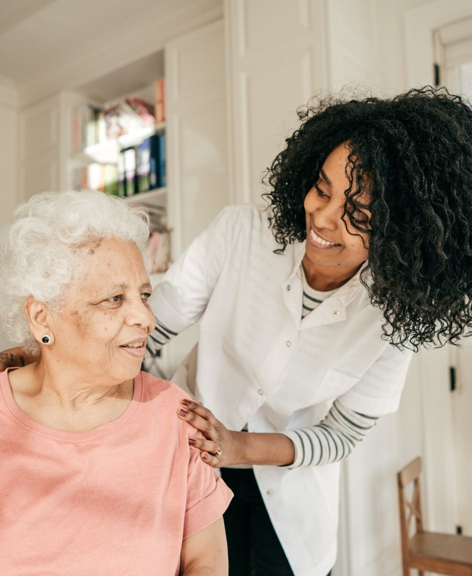 It's important that caregivers communicate clearly and honestly with seniors.